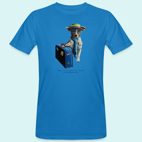 The Traveling Dog - Men's Organic T-Shirt