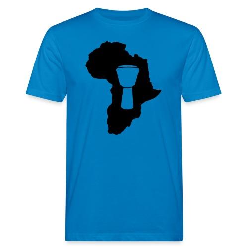 Djembe in Afrika - Männer Bio-T-Shirt