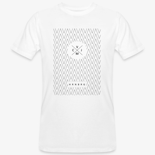 Zickzack - Männer Bio-T-Shirt