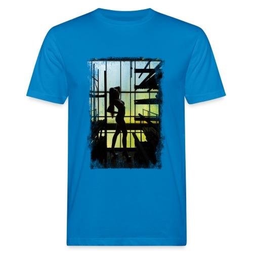 Abandoned Silhoutte (Grunge) - Männer Bio-T-Shirt