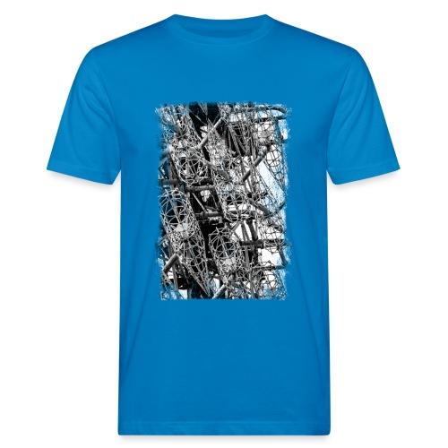 Duga (schwarz/weiss) - Männer Bio-T-Shirt