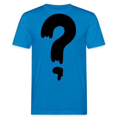 question mark - Männer Bio-T-Shirt