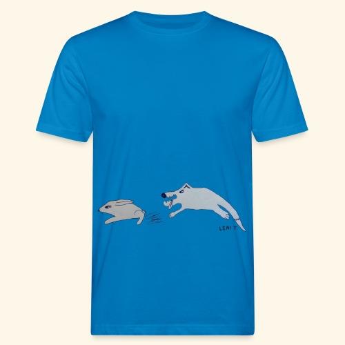 LeniT Catch Me If You Can - Miesten luonnonmukainen t-paita