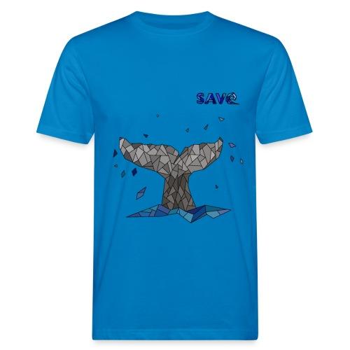 Whale - Mannen Bio-T-shirt