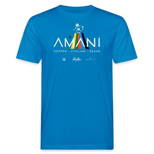 logo_amani_SpSh_02 - Mannen Bio-T-shirt