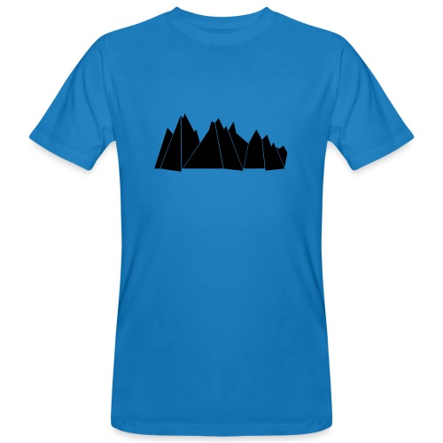 BlackMountains - Männer Bio-T-Shirt
