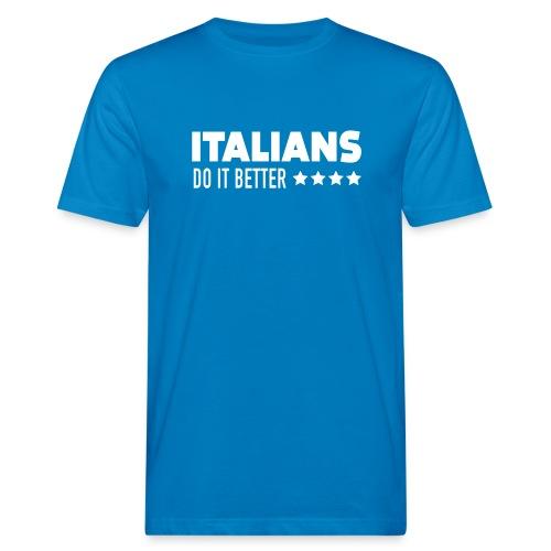 Italians Do It Better Blanc - T-shirt bio Homme