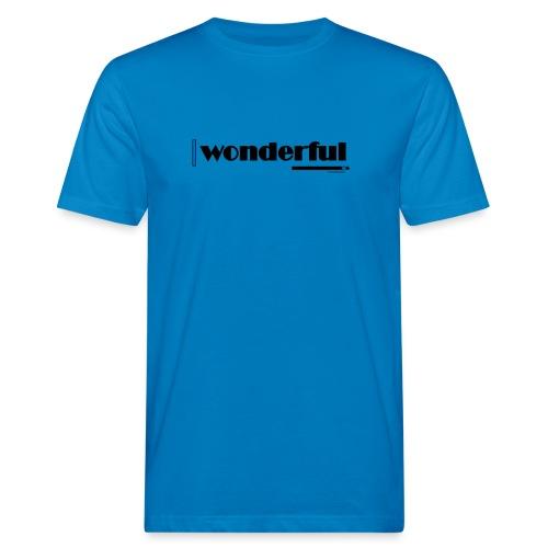 Wonderful Blue - Men's Organic T-Shirt