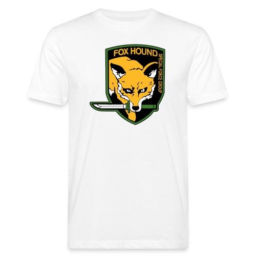 Fox Hound Special Forces - Miesten luonnonmukainen t-paita