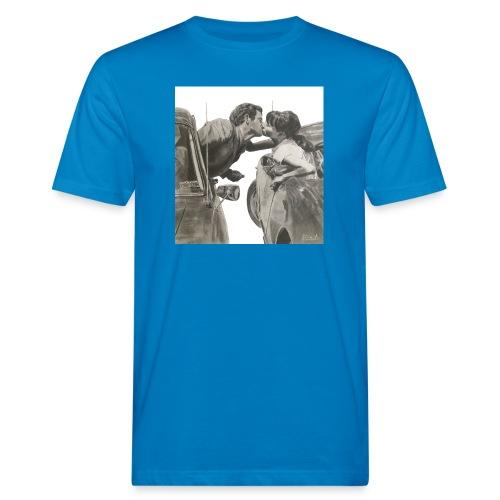 Travel fondo blanco - Camiseta ecológica hombre