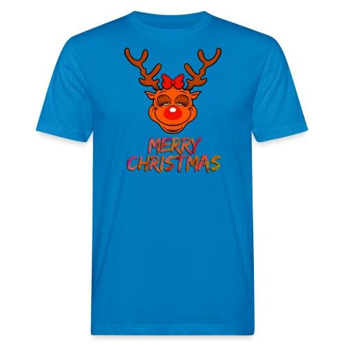 Rudolph weiblich - Männer Bio-T-Shirt