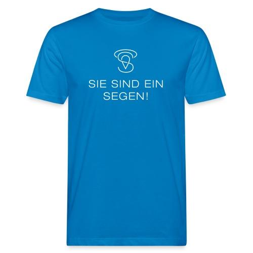 Sie sind eine Segen (w) - Männer Bio-T-Shirt