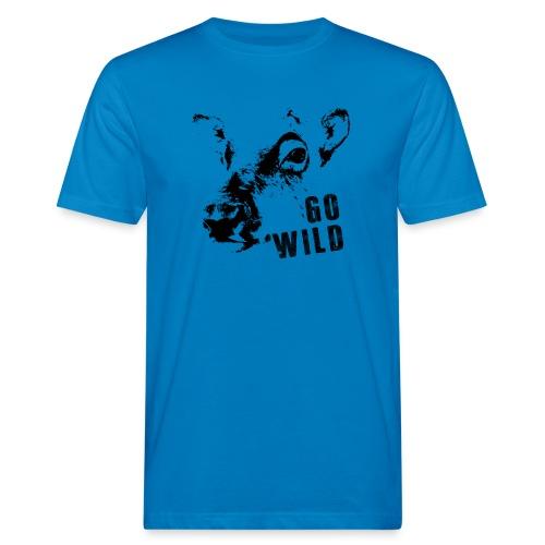 Go Wild - Männer Bio-T-Shirt