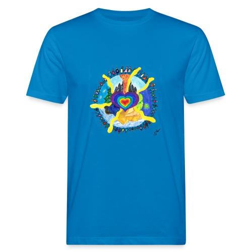 Herzwelt - Männer Bio-T-Shirt