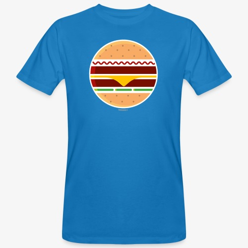 Circle Burger - T-shirt ecologica da uomo