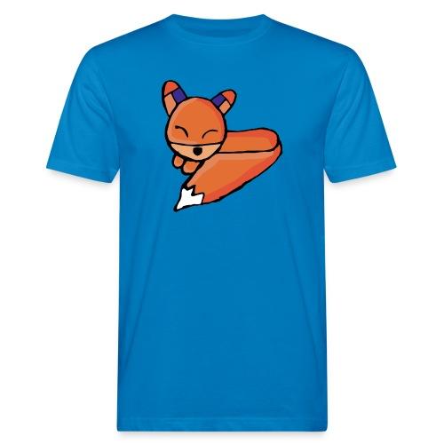 Edo le renard - T-shirt bio Homme