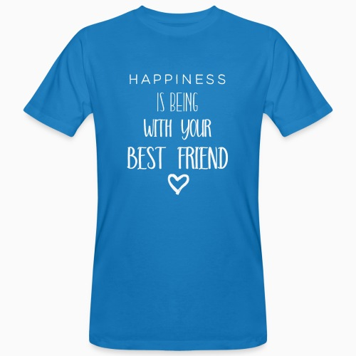 Happiness is 2nd edition white - Men's Organic T-Shirt