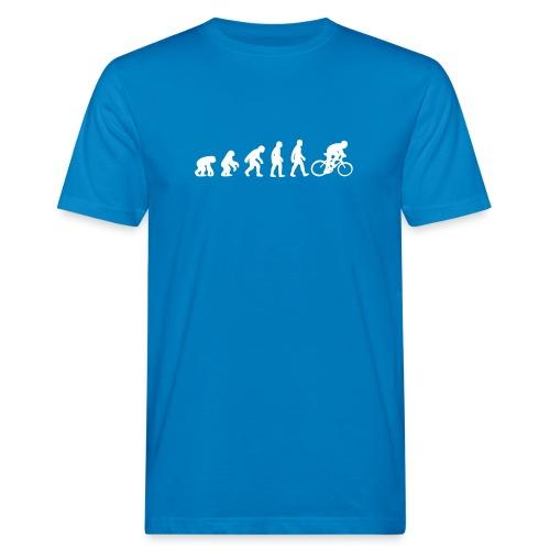 Evolution Bike - Männer Bio-T-Shirt