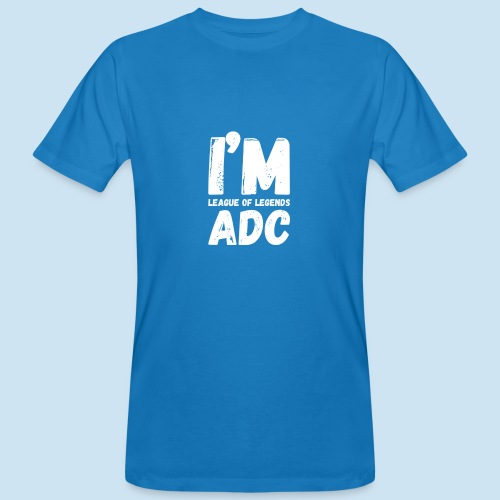 I'm ADC main - Økologisk T-skjorte for menn