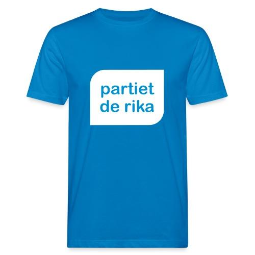Logo vit - Ekologisk T-shirt herr