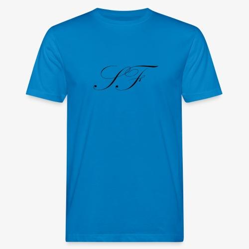 SF HANDWRITTEN LOGO BLACK - Men's Organic T-Shirt