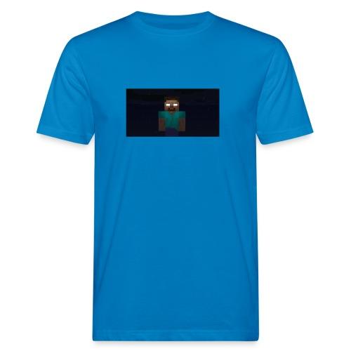 Herobrine (Bild) - Männer Bio-T-Shirt