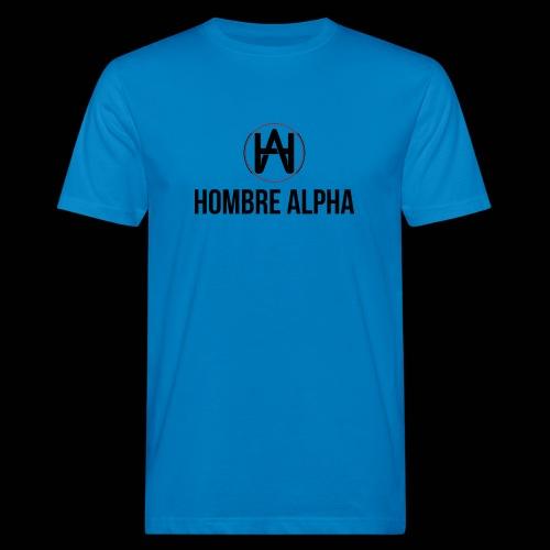 Hombre Alpha Logo - Camiseta ecológica hombre