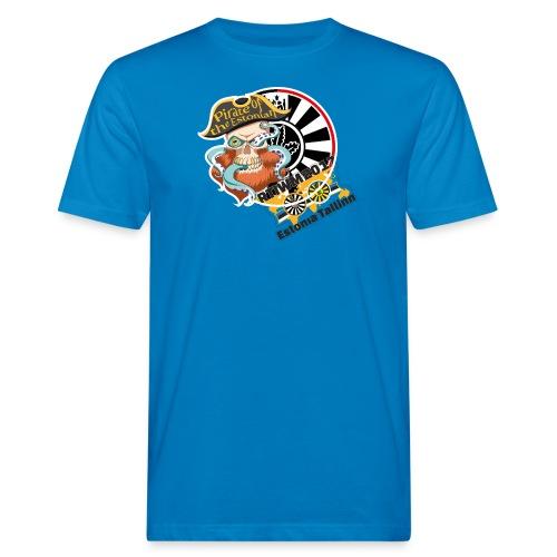 pirate of the estonian back - Männer Bio-T-Shirt