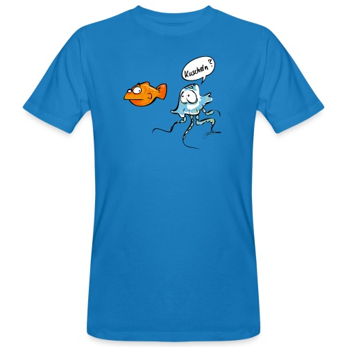 Kuscheln? - Männer Bio-T-Shirt