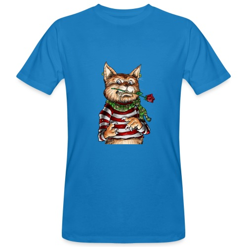 T-shirt - Crazy Cat - T-shirt bio Homme