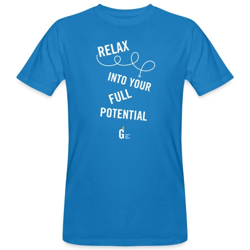 Relax into your full potential I v2 - Men's Organic T-Shirt