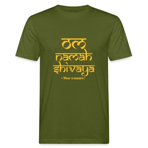 OM NAMAH SHIVAYA - T-shirt ecologica da uomo