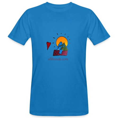 Ullihunde - Logo RETRO - Männer Bio-T-Shirt