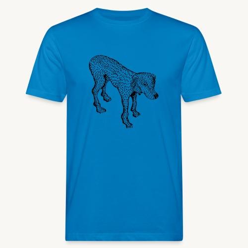 Hund - Männer Bio-T-Shirt