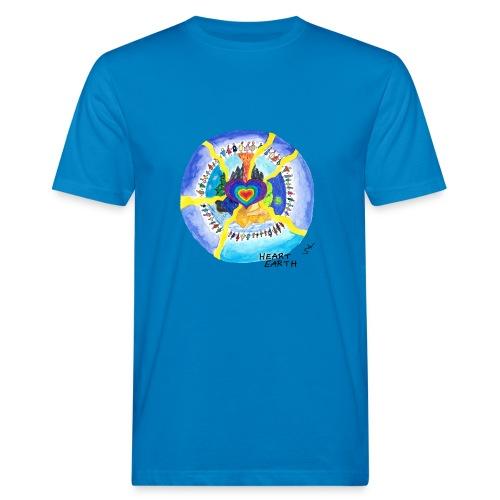 HEART EARTH - Männer Bio-T-Shirt