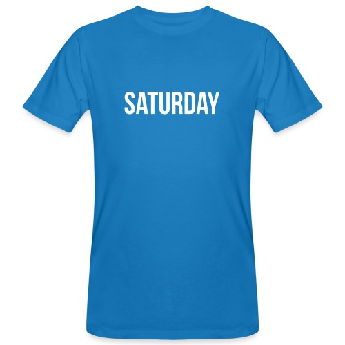 Saturday - Men's Organic T-Shirt