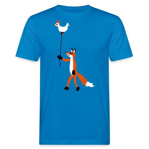 Fuchs und Henne - Männer Bio-T-Shirt