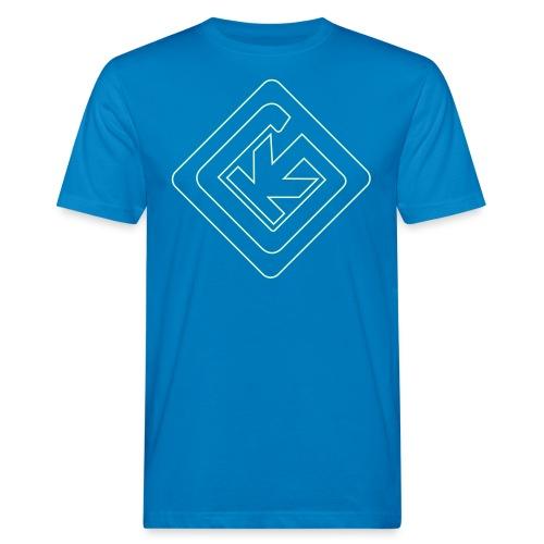 KG Logo - Männer Bio-T-Shirt