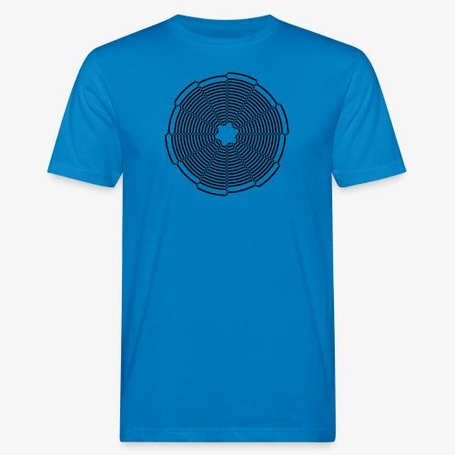 Abstract Circle - Männer Bio-T-Shirt