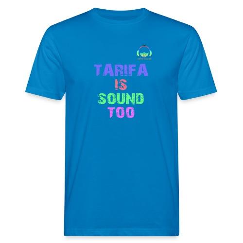 Tarifa tambiés es sonido - Camiseta ecológica hombre