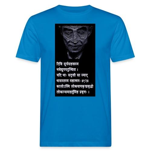 Oppenheimer s Sanskrit Verse I am Become Death - Men's Organic T-Shirt
