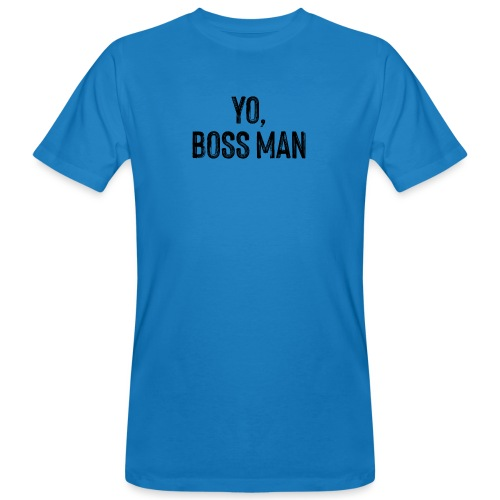 Yo BossMan - LDN Roads Collection - BLK - Men's Organic T-Shirt