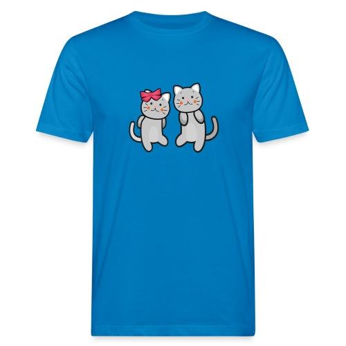 Kotki - Ekologiczna koszulka męska