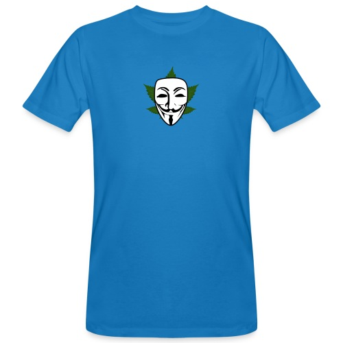 Anonymous - Mannen Bio-T-shirt