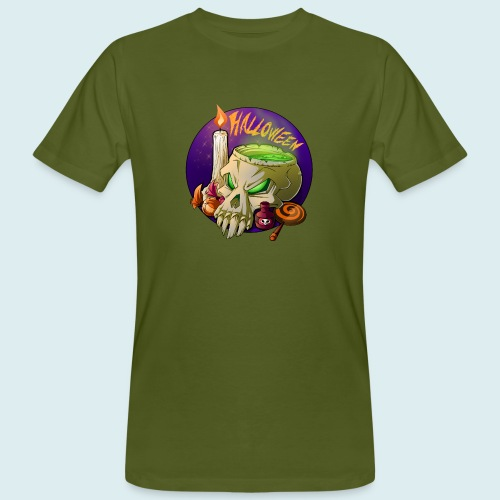 halloween - T-shirt ecologica da uomo