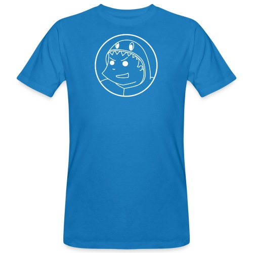 Big logo White2 png - Men's Organic T-Shirt