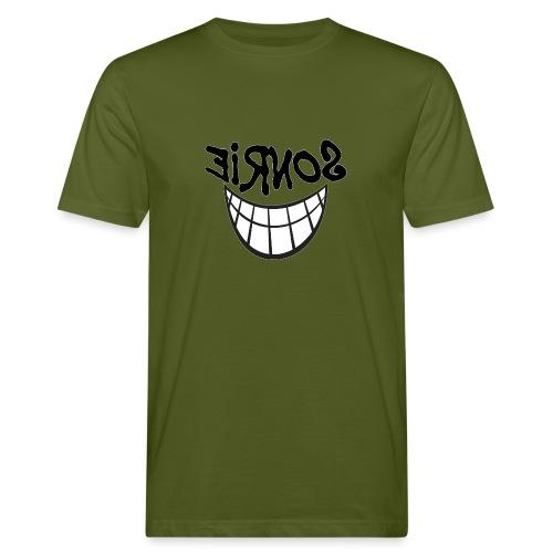 Para el Espejo:Sonrie 01 - Camiseta ecológica hombre