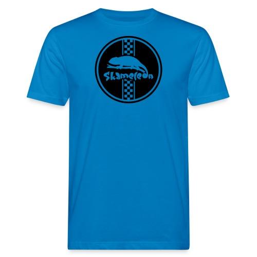 skameleon Logo - Männer Bio-T-Shirt
