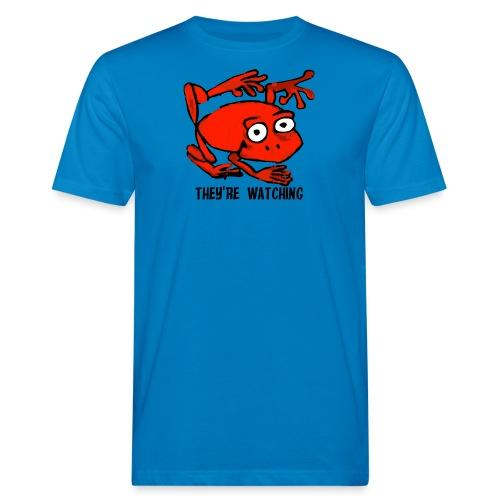 red frog - T-shirt ecologica da uomo