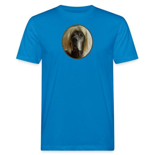 D O G G E mit Perücke - Männer Bio-T-Shirt